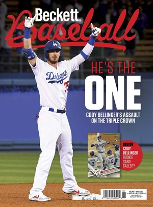 Beckett Baseball Magazine   8/2019 Cover