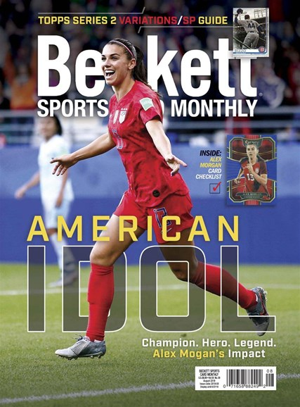 Beckett Sports Card Monthly Cover - 8/1/2019