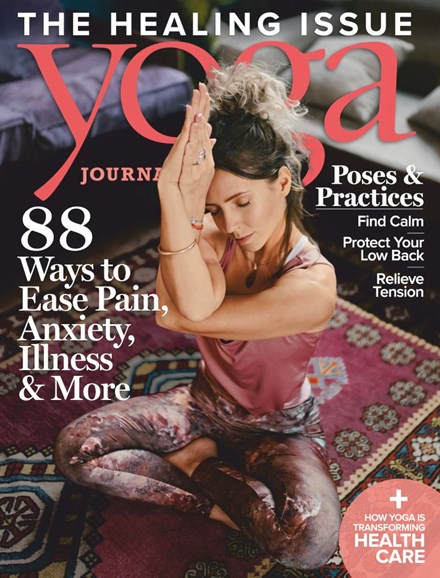 Yoga Journal Cover - 7/1/2019