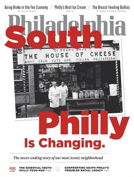 Philadelphia Magazine Cover - 7/1/2019