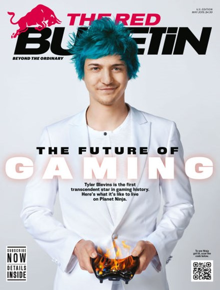 The Red Bulletin Cover - 5/1/2019