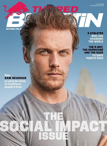 The Red Bulletin Cover - 10/1/2018
