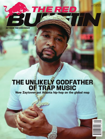 The Red Bulletin Cover - 9/1/2018