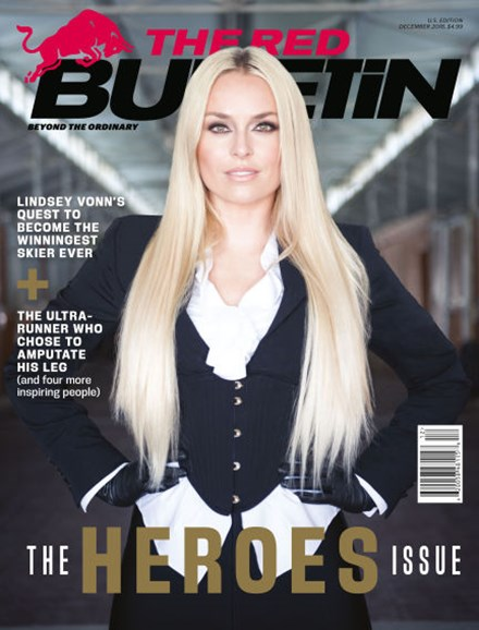 The Red Bulletin Cover - 12/1/2018