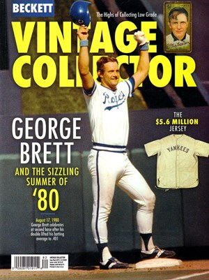 Beckett Vintage Collector | 8/2019 Cover
