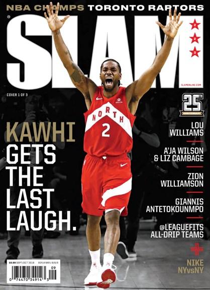 Slam Cover - 9/1/2019