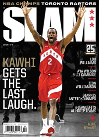 Slam Magazine | 9/2019 Cover