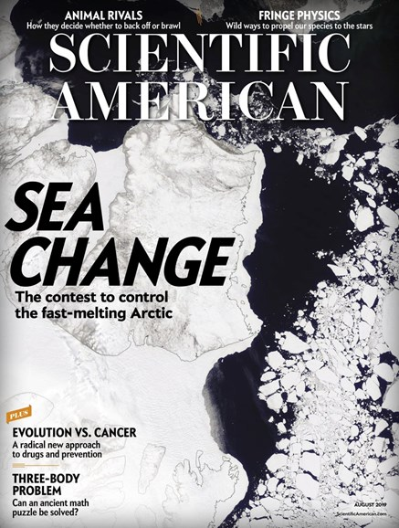 Scientific American Cover - 8/1/2019