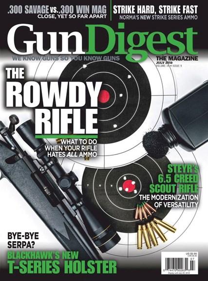 Gun Digest Cover - 7/1/2019