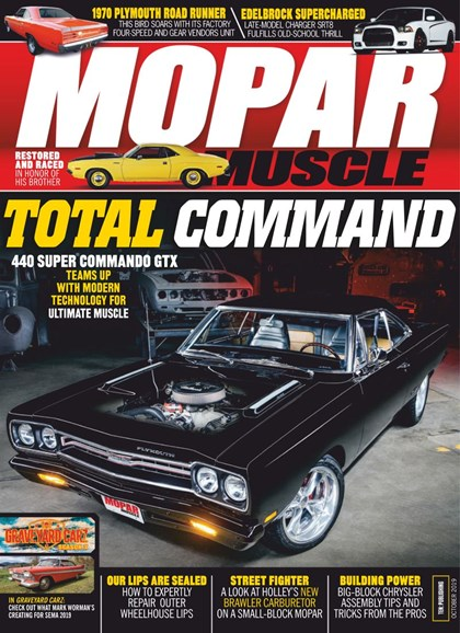 Mopar Muscle Cover - 10/1/2019