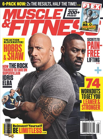 Muscle & Fitness Cover - 8/1/2019