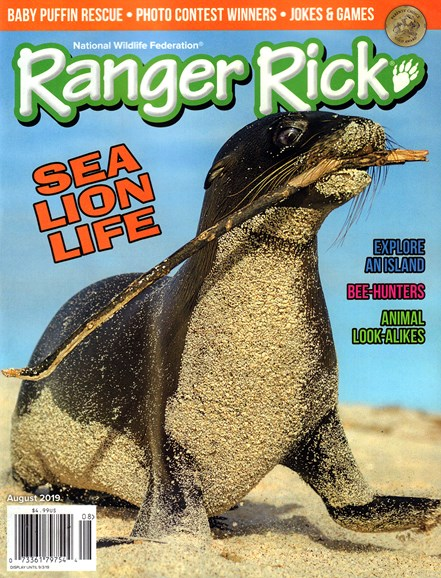 Ranger Rick Cover - 8/1/2019