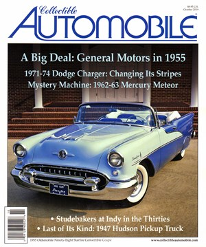Collectible Automobile Magazine | 10/2019 Cover