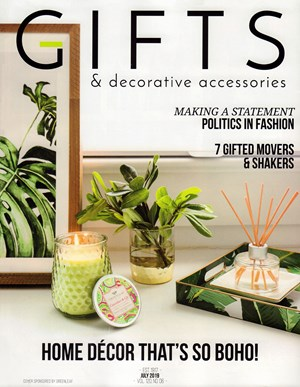 Gifts And Decorative Accessories Magazine | 7/2019 Cover