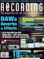 Recording Magazine | 8/2019 Cover