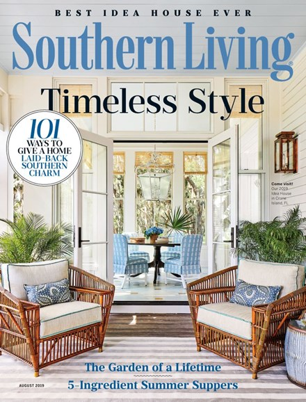 Southern Living Cover - 8/1/2019