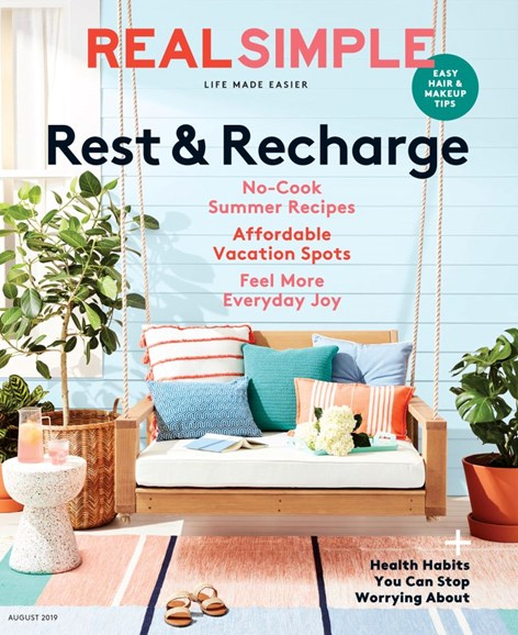 Real Simple Cover - 8/1/2019