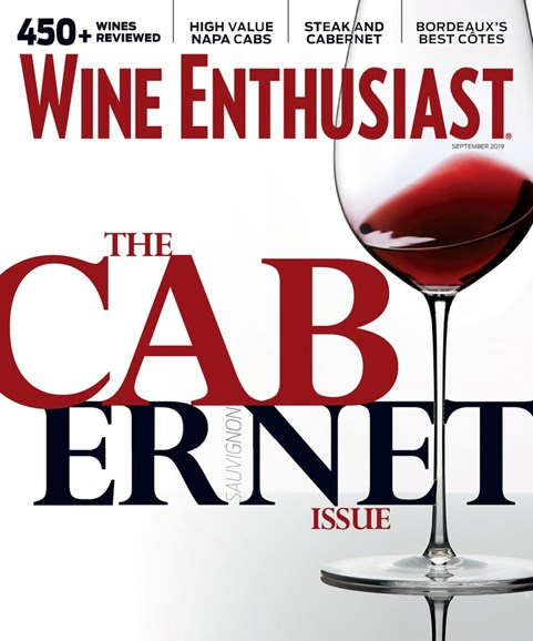 Wine Enthusiast Cover - 9/1/2019