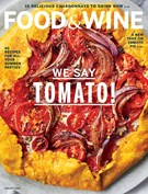 Food & Wine Magazine 8/1/2019