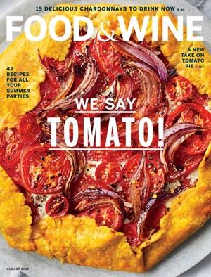 Food & Wine Magazine | 8/1/2019 Cover