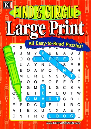 Find and Circle Large Print Magazine | 1/2025 Cover