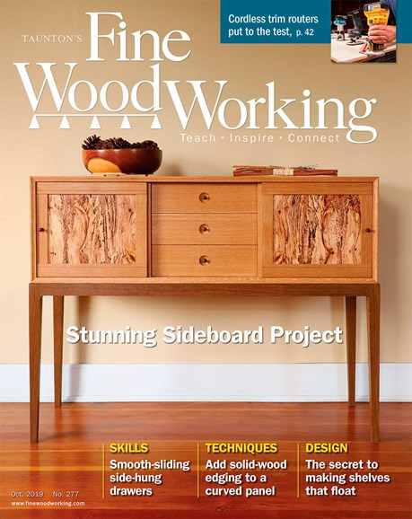 Fine Woodworking Cover - 10/1/2019