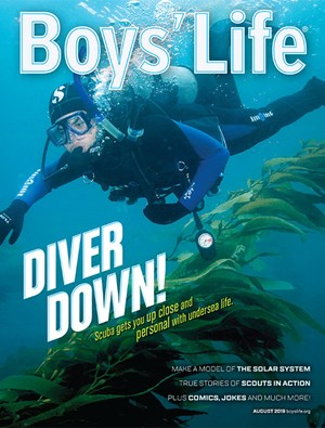 Boy's Life Magazine | 8/2019 Cover