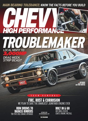 Chevy High Performance Magazine | 10/2019 Cover