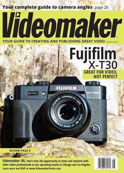 Videomaker Cover - 8/1/2019