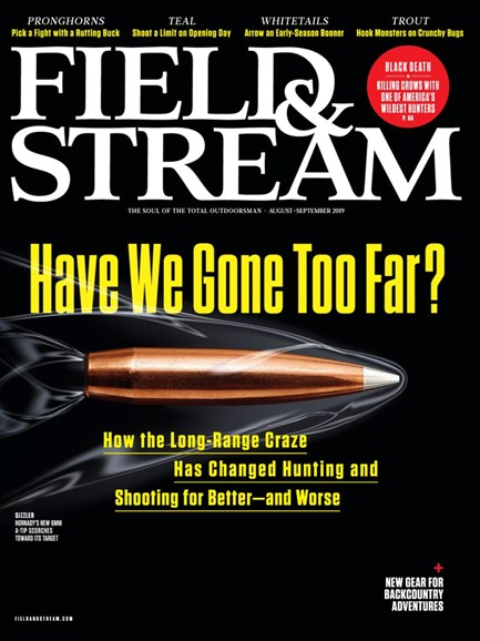 Field & Stream Cover - 8/1/2019
