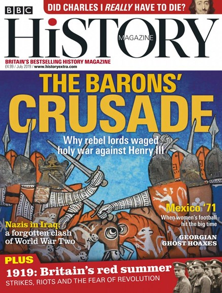 BBC History Cover - 7/1/2019