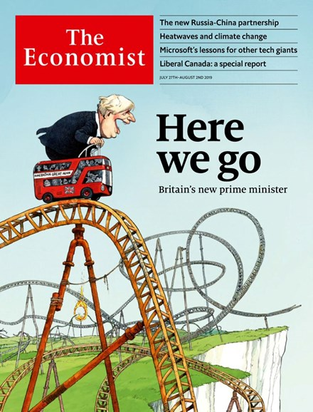 The Economist Cover - 7/27/2019