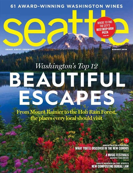Seattle Magazine Cover - 8/1/2019