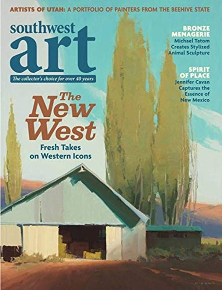 Southwest Art Cover - 8/1/2019