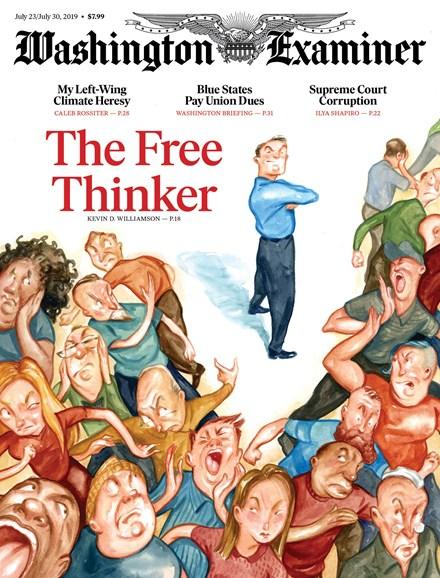 Washington Examiner Cover - 7/23/2019