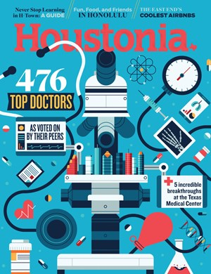 Houstonia Magazine | 8/2019 Cover