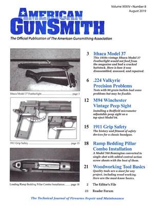 American Gunsmith Magazine | 8/2019 Cover