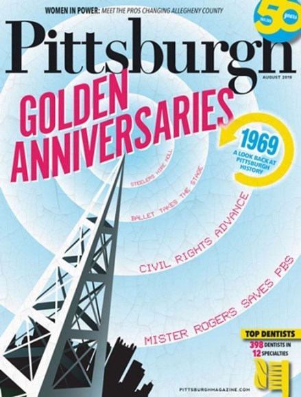 Pittsburgh Magazine Cover - 8/1/2019
