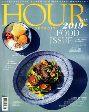 Hour Detroit Magazine   8/2019 Cover