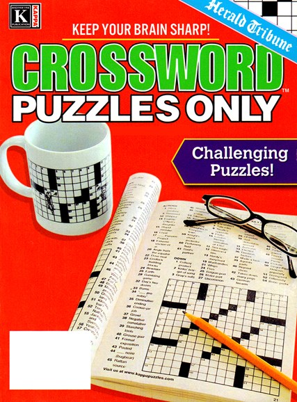 Herald Tribune Crossword Puzzles Only Cover - 1/1/2025