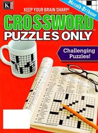 Herald Tribune Crossword Puzzles Magazine | 1/2025 Cover