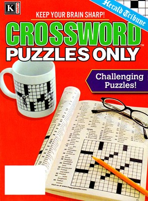 Herald Tribune Crossword Puzzles Magazine | 1/2025 Cover