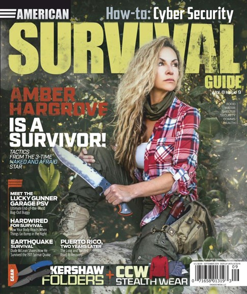 American Survival Guide Cover - 9/1/2019
