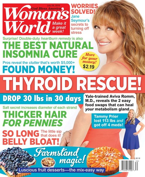 Woman's World Cover - 7/29/2019