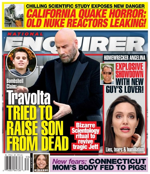 National Enquirer Cover - 7/29/2019