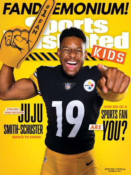 Sports Illustrated Kids Cover - 8/1/2019