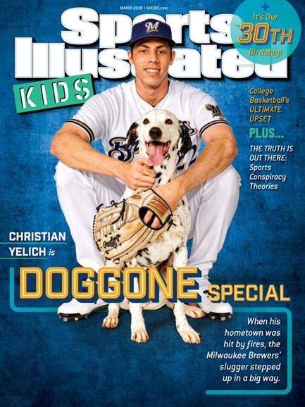 Sports Illustrated Kids Cover - 3/1/2019