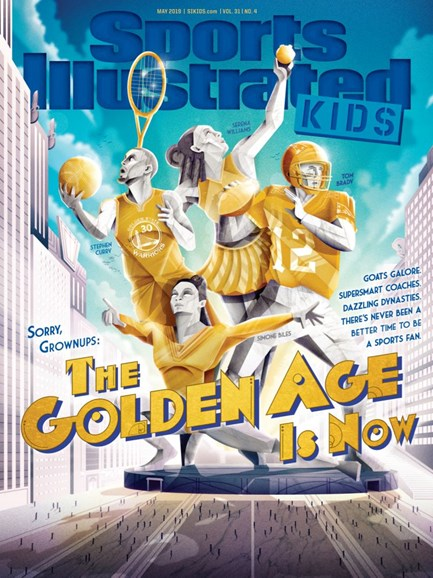 Sports Illustrated Kids Cover - 5/1/2019