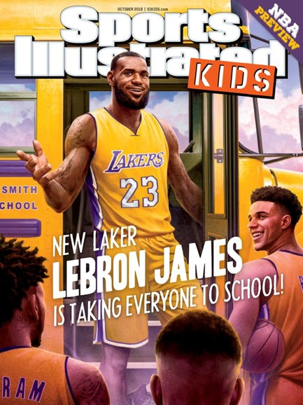 Sports Illustrated Kids Cover - 10/1/2018