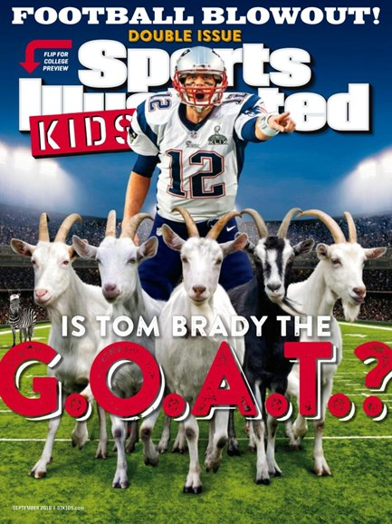 Sports Illustrated Kids Cover - 9/1/2018